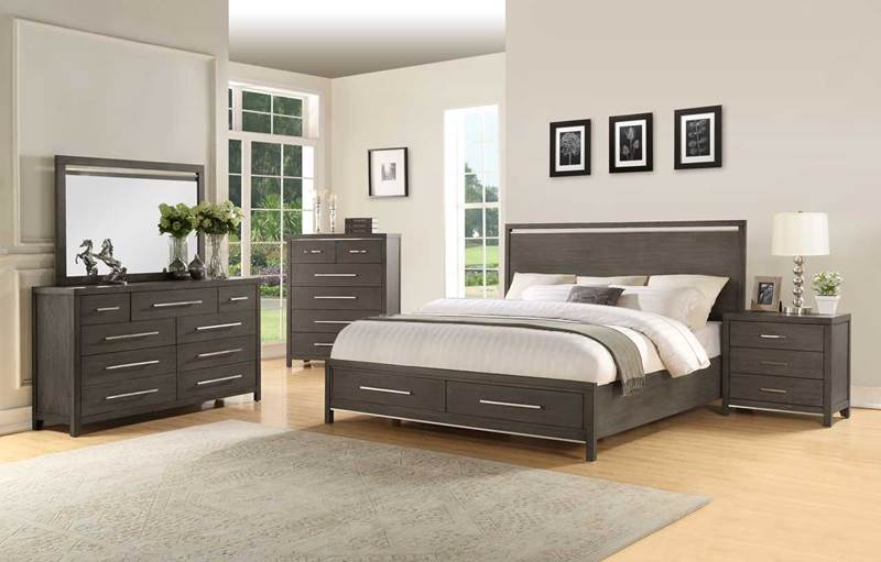 Steve Silver  KT940 Katy Bedroom Set with Storage Bed
