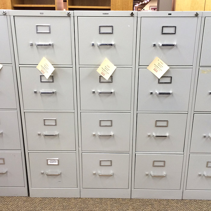 Used Vertical File Cabinets  Used File Cabinets  Storage