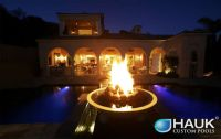 Dallas Fire Pit Installation | Dallas Landscape Lighting