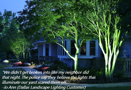 landscape lighting in dallas