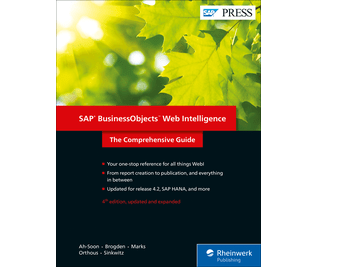 SAP Press Web Intelligence 4th Edition
