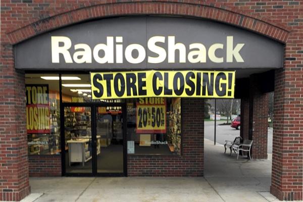Radio Shack closing