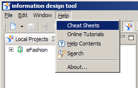 Object Formatting with the Information Design Tool