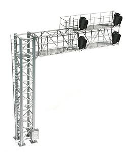 Modern Cantilever Signal Bridge (Left Hand) by BLMA Models