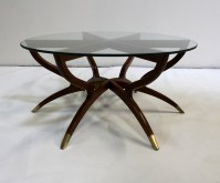 Spider Coffee Table | Mid Century Modern Collapsible ...