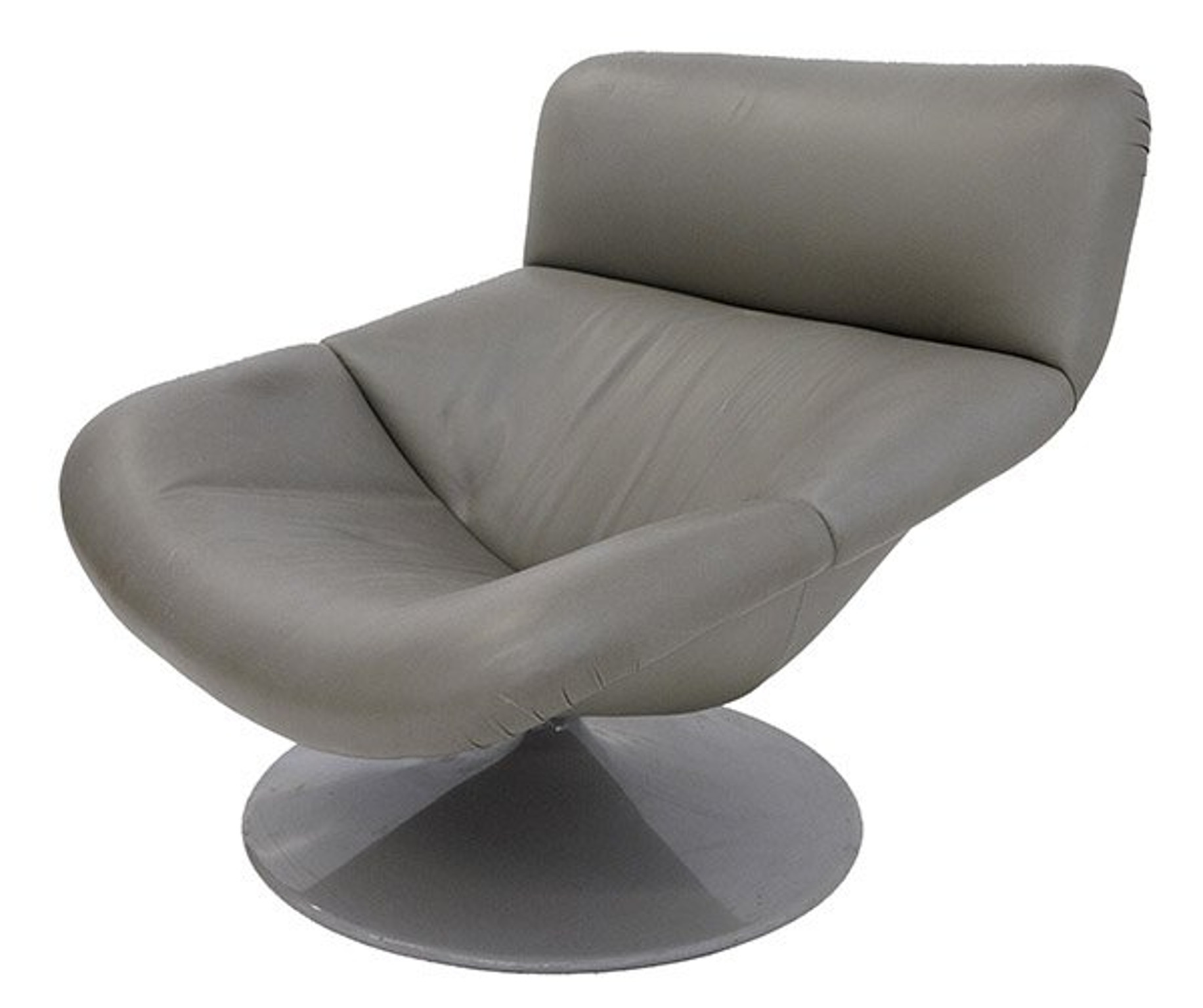 modern leather swivel lounge chair ikea rocking chairs by geoffrey harcourt