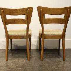 Heywood Wakefield Dogbone Chairs Bird Cage Chair Set Of 6 Iconic Mid Century Modern Quotdog
