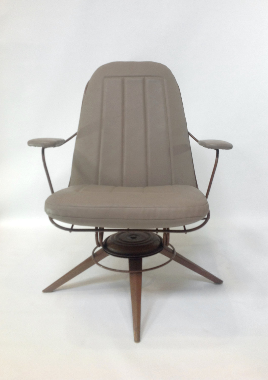 Mid Century Modern Rocking Chair  Pair of Midcentury