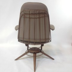 Mid Century Modern Wire Chair Tommy Bahama Event Rocking Pair Of