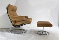 Mid Century Modern Leather Chair | Pair Scandinavian Mid ...