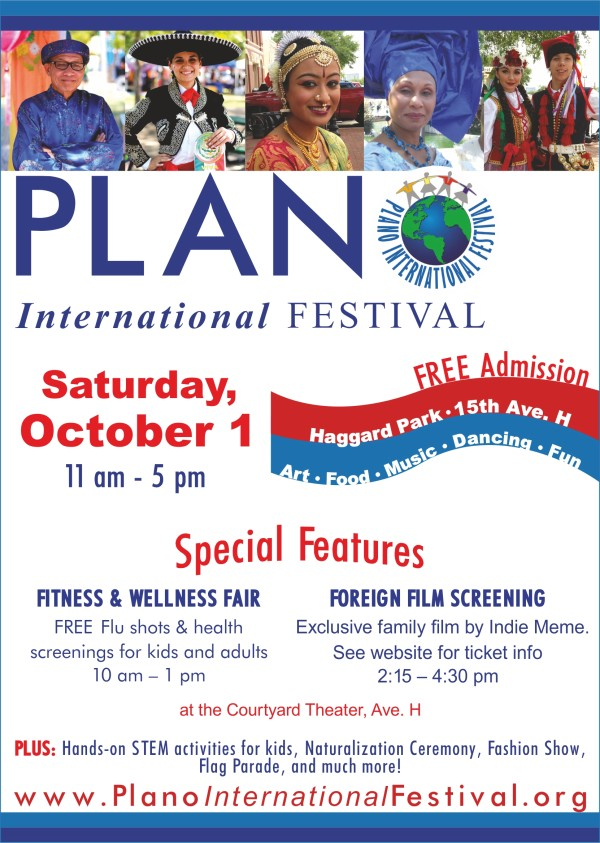 Plano International Festival English