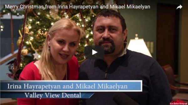 Irina Hayrapetyan and Mikael Mikaelyan of Valley View Dental