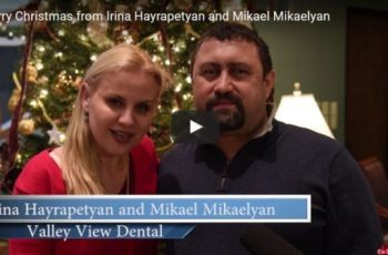 Irina Hayrapetyan and Mikael Mikaelyan of Valley View Dental