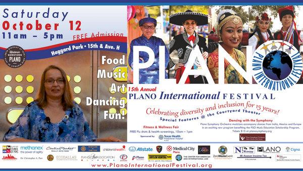 15th Plano International Festival, Plano International Festival, Linda Adler,