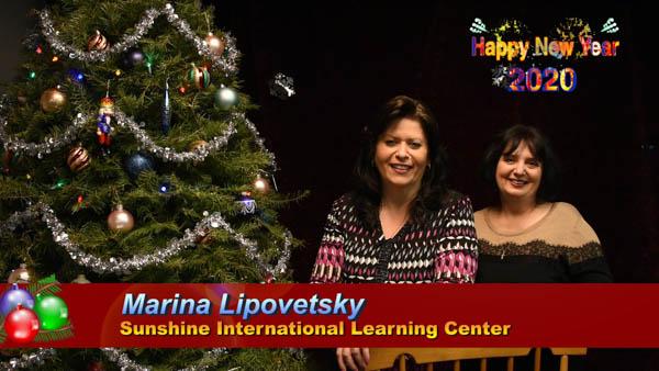 Marina Lipovetsky и Русский детский сад в Далласе поздравляет с Новым 2020 Годом!