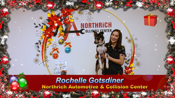 """HAPPY 2020 FROM ROCHELLE GOTSDINER 🎄 """"On behalf of Turbo and me, I would like to wish all of Northrich Automotive and Northrich Collision Center family, friends and customers a Happy 2020! 🎄 Thank you for making 2019 such a successful year! We couldn't have done it without you."""