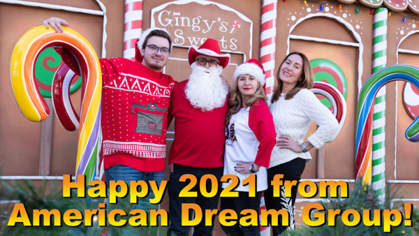 Christmas 2020 Video Greetings from Irina and John Norcross, Kirill Popov, Galina Hammers are Russian Speaking Real Estate Experts