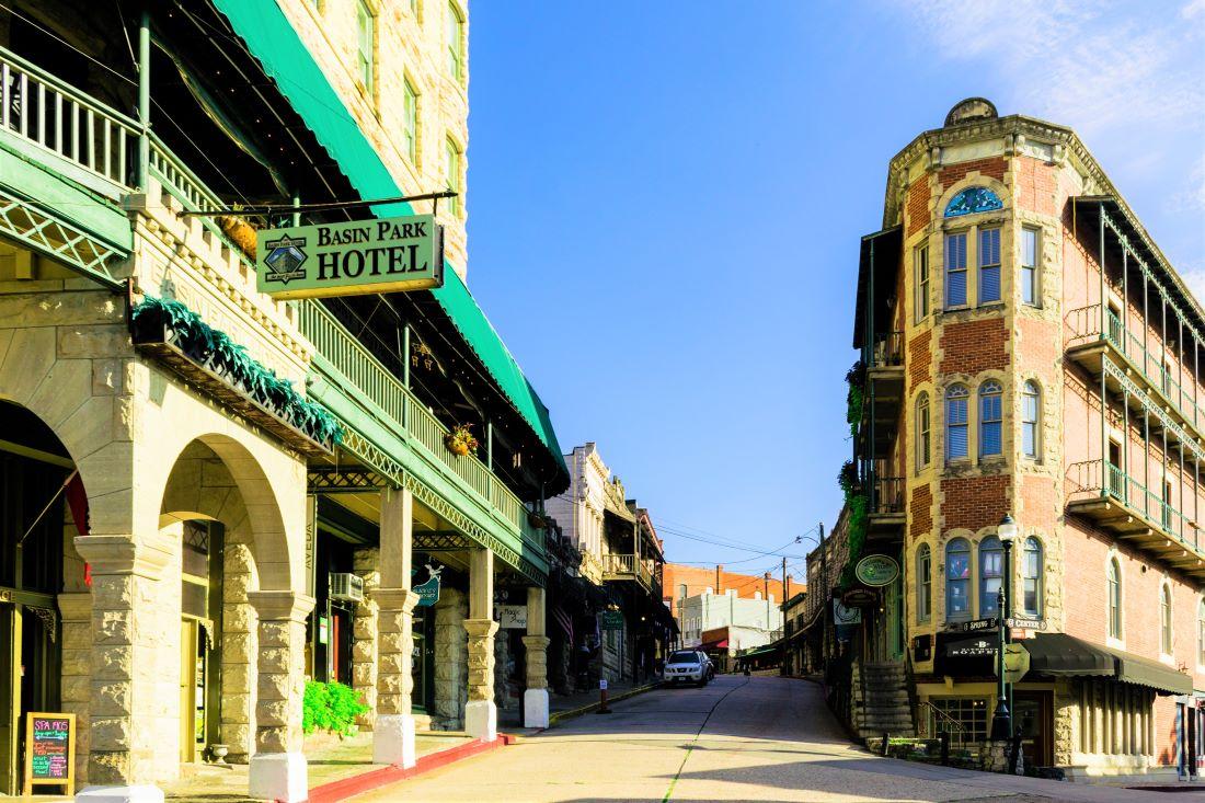 Eureka Springs Arkansas - Fall Travel Destinations from Dallas