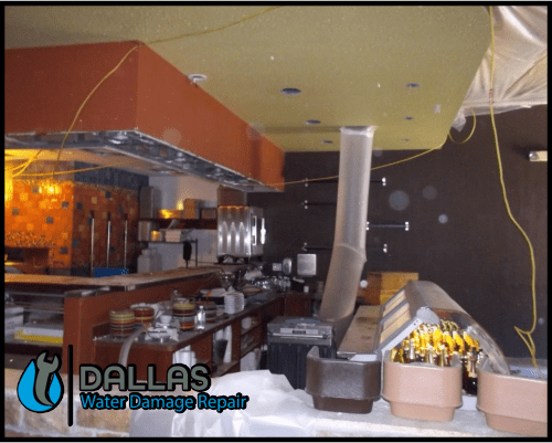 dallas water damage repair restoration commercial residential home office 90