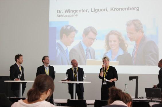 Panel am Digital Future Forum der FHNW. Moderation Prof. Martina Dalla Vecchia