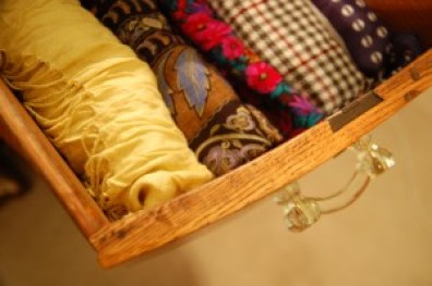 scarf drawer