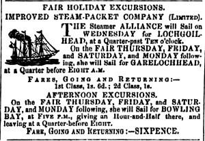 Alliance July 15, 1857