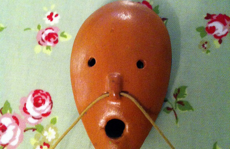 """Ocarina Face"" Foto: Simon Harriyott (CCBY) by Flickr"