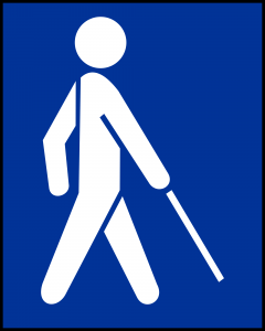 Internationales Logo Blindheit