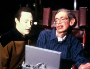 Data und Stephen Hawking (TNG; Angriff der Borg Teil I) Added by ThomasHL on memory-alpha.wikia.com