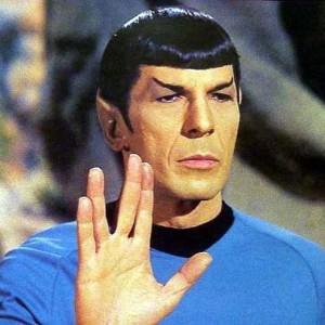 Spocks grüßendes Handzeichen