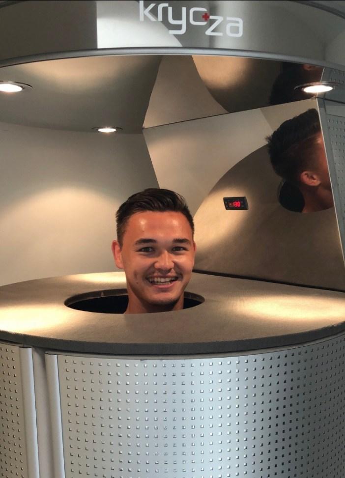 Patrik Le Giang regeneracia dalsomto futbal