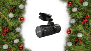 Dual Dash Cam Happy Holidays