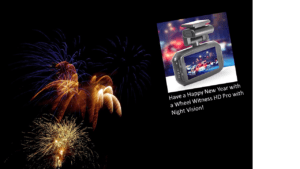 Happy New Year with a Dual Dash Cam