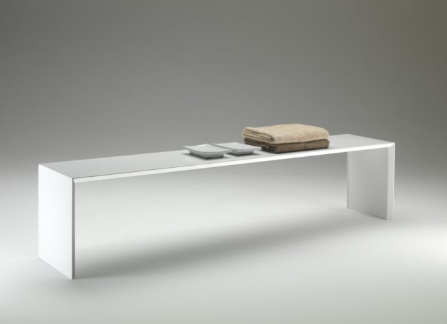 SQUARE BENCH - TUBES