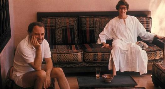Pierre Bergé e Il couturier nella villa di Marrakech