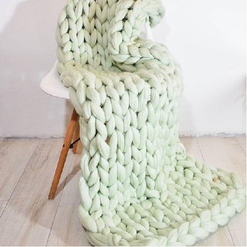 Plaid Cloudy Wool