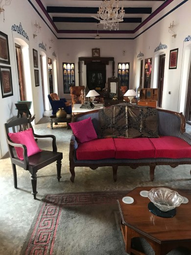 Interior of Dhenkanal Palace