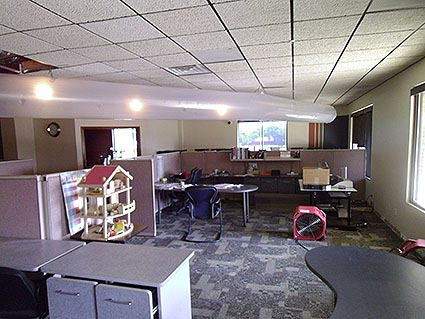 Water Damage in Office Buildings in DallasFort Worth