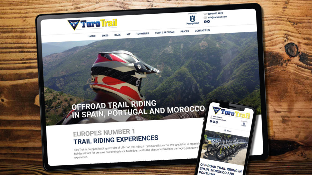 Motorcycle Business Website Designer Web Visual