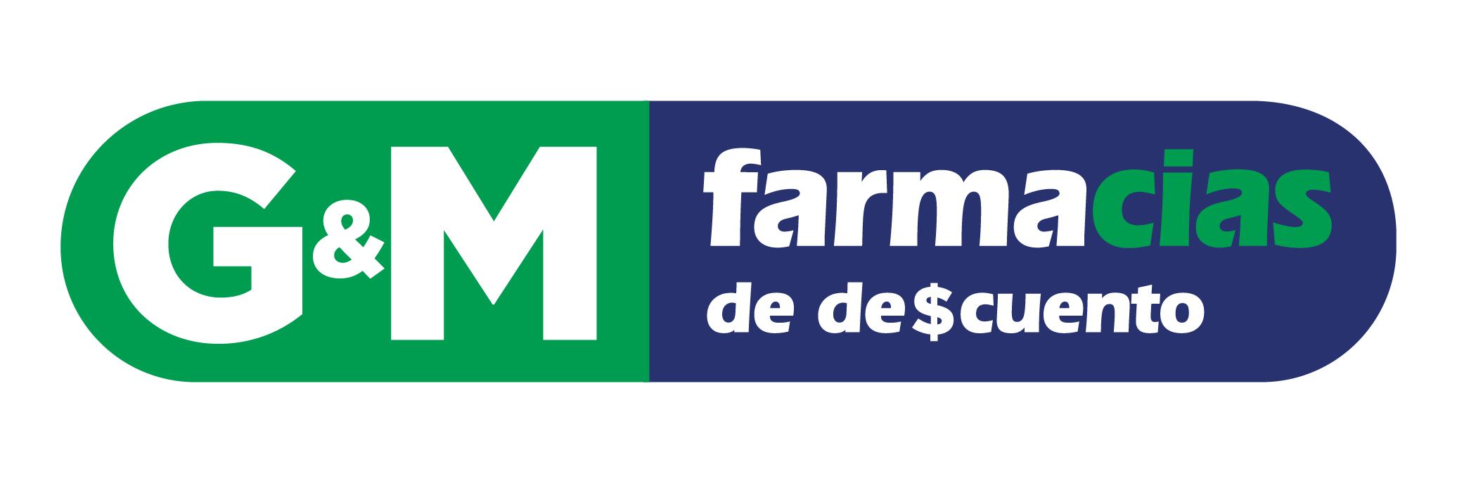 logotipo G&M Farmacias de Descuento