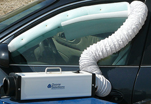How to Use an Ozone Generator in a Car Effectively - Damage Control 911