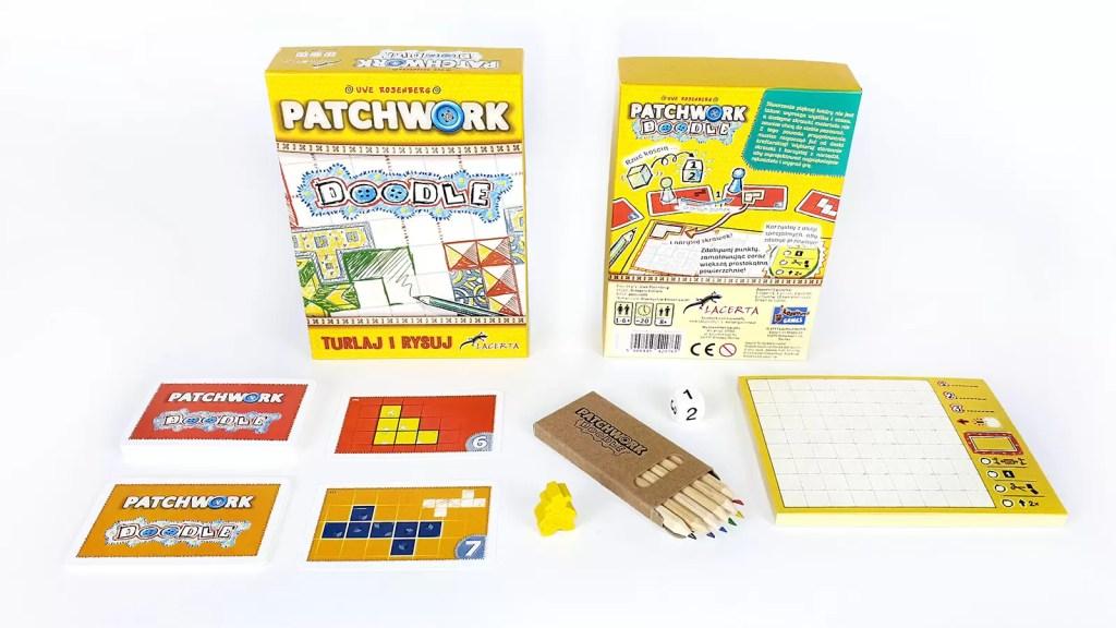 patchwork doodle recenzja gry