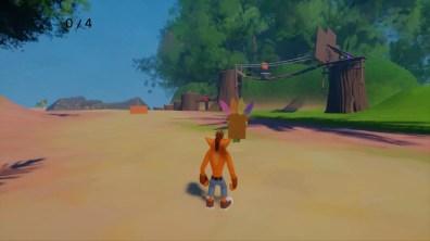 Crash Bandicoot Twinsanity Island