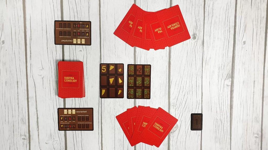 fabryka czekolady zasady gry