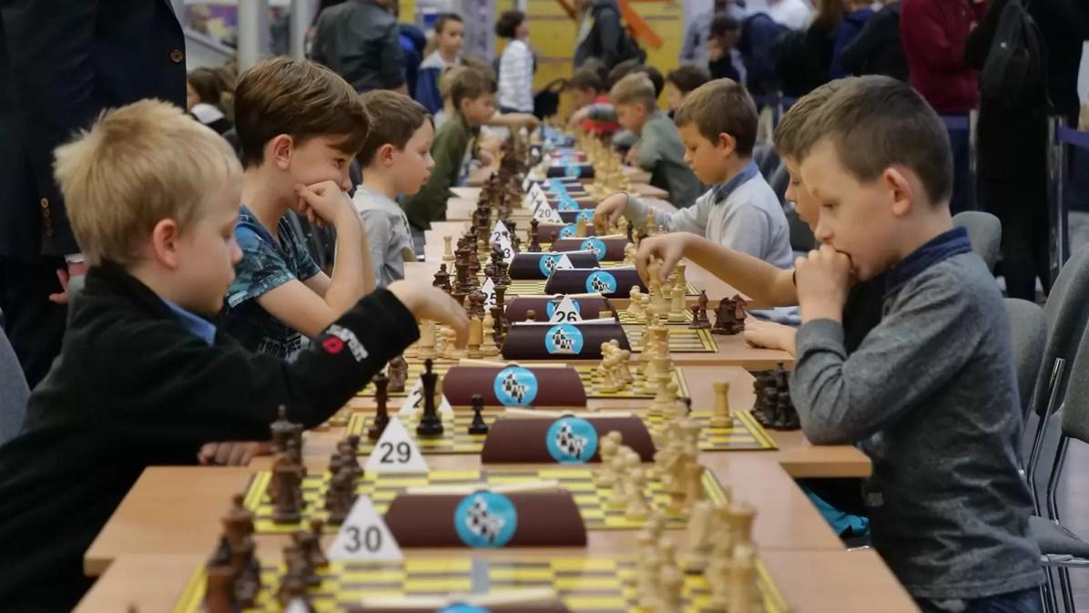 Turniej szachowy dla dzieci