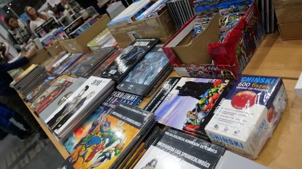 Komiksy i książki