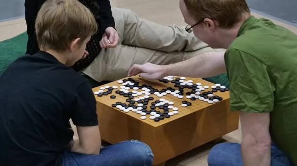 Była też i nauka gry w Go