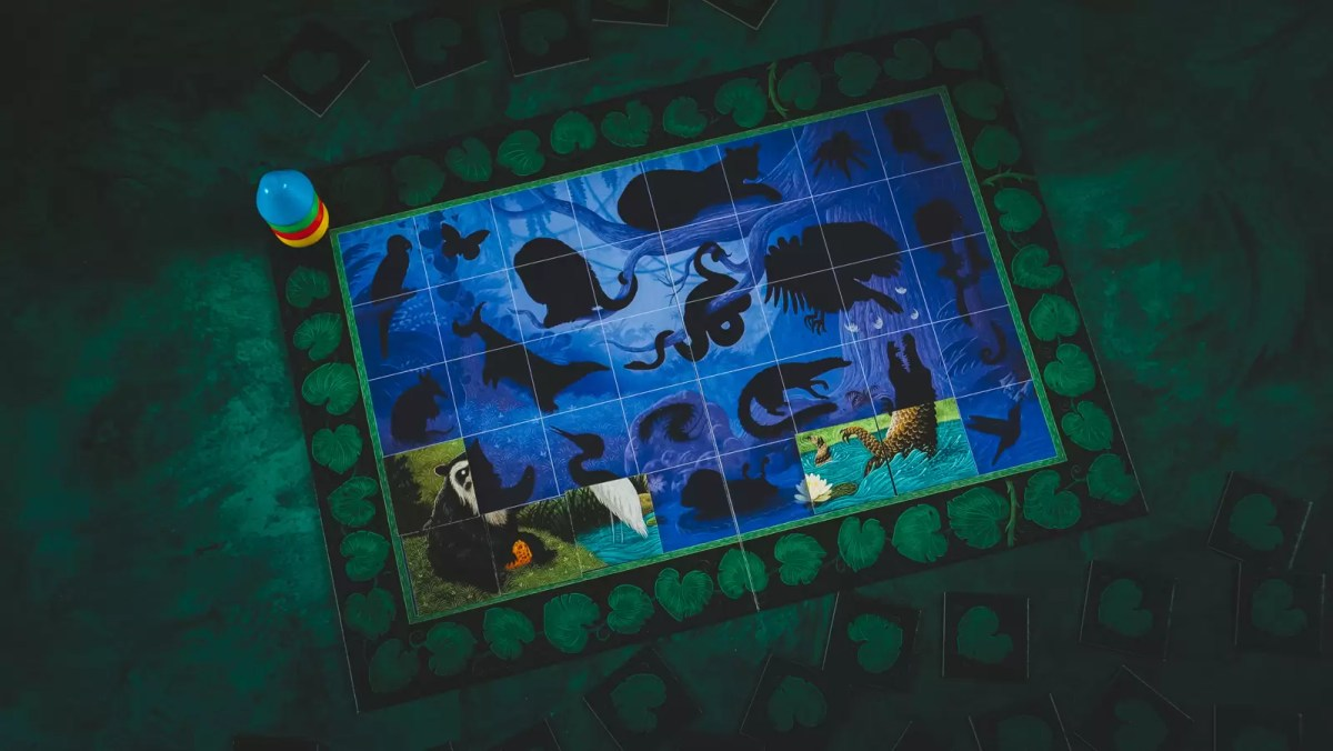 dżungla puzzlogra