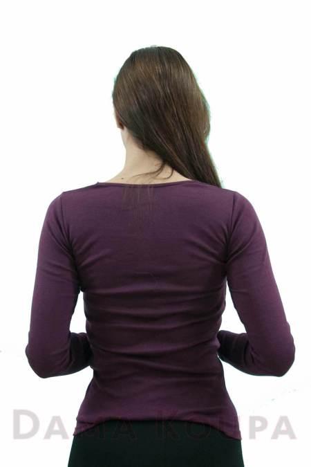 Μπλούζα με δαντέλα στο στήθος