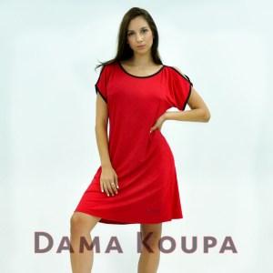 κόκκινο φόρεμα homewear